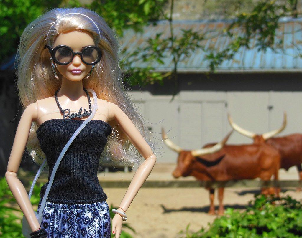 Cathy au Zoo