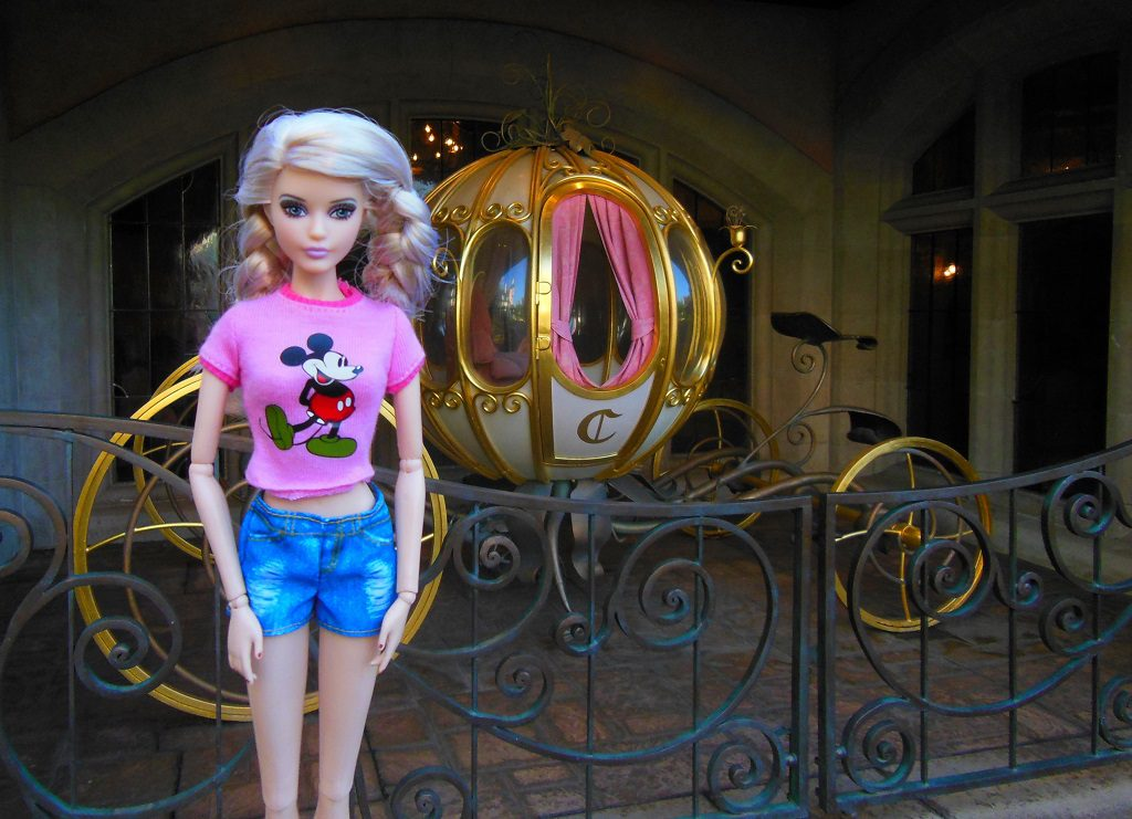 Cathy et son carrosse à Disney