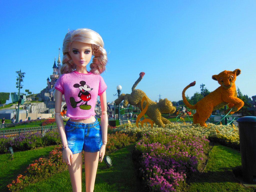 Cathy à Disney